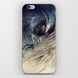 The Guardian of Dream - Art by Élian Black'Mor iPhone Skin
