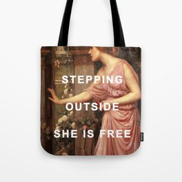 Psyche's Leaving Home Tote Bag