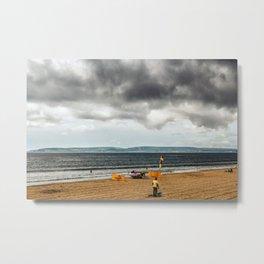 Portsmouth beach Metal Print