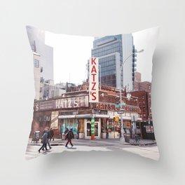 Katz IV Throw Pillow