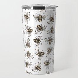 Bee Pattern - Katrina Niswander Travel Mug