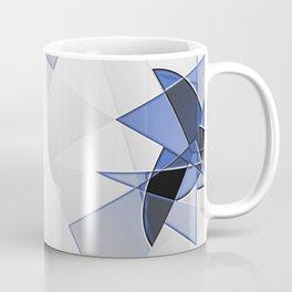 blue background for home decor Coffee Mug