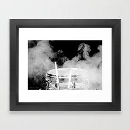SMOKIN BEAT Framed Art Print