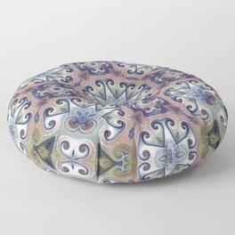 Migraine Bloom Floor Pillow