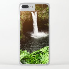 Jungle Waterfall - 32/365 Clear iPhone Case