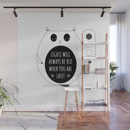 wise cat Wall Mural