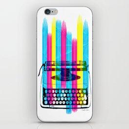 Typewriter iPhone Skin