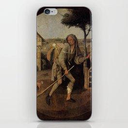 The Vagabond - Hieronymus Bosch iPhone Skin