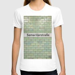 Berlin U-Bahn Memories - Samariterstraße T-shirt