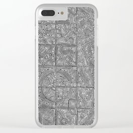 Bodies and Systems Clear iPhone Case