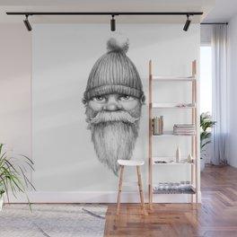 Grumpy Gnome Wall Mural
