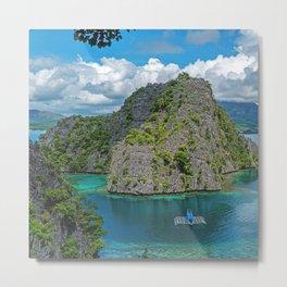 Beautiful Coron, Philippines Metal Print