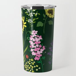 flower garden Travel Mug