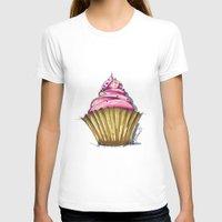 cupcake T-shirts featuring Cupcake by Svitlana M