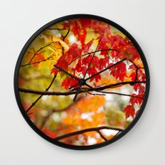 Autumn Bliss Wall Clock