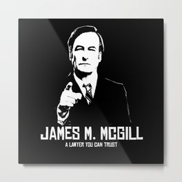 JAMES M. MCGILL Metal Print
