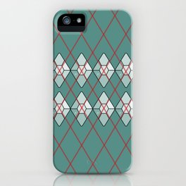 Diamonds And Lasers Argyle iPhone Case