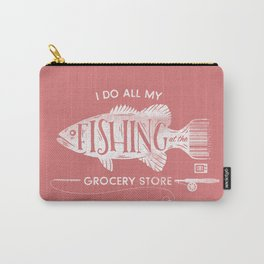 Fishin' Fo' Life Carry-All Pouch