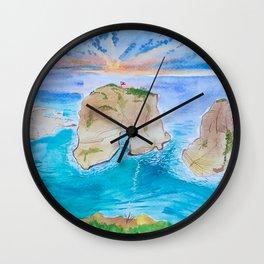 Raouche Rock Wall Clock