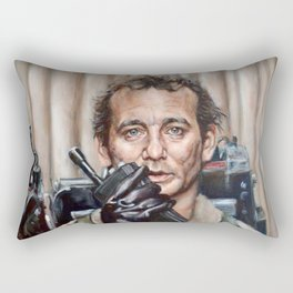 Bill Murray / Ghostbusters / Peter Venkman Rectangular Pillow
