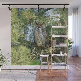 Great horned goddess Wall Mural