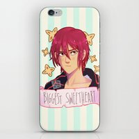 iwatobi iPhone & iPod Skins featuring award by JohannaTheMad