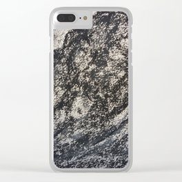 Grey Moutain by Gerlinde Streit Clear iPhone Case