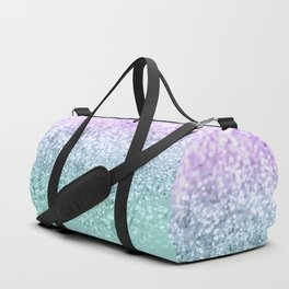Mermaid Girls Glitter #1 #shiny #decor #art #society6 Duffle Bag