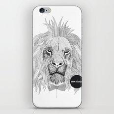 Asleep lion iPhone & iPod Skin