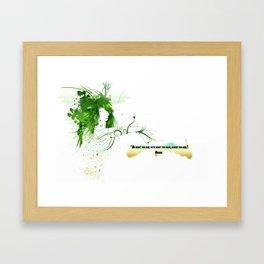 Women with design Framed Art Print
