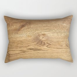Wood Wood Rectangular Pillow