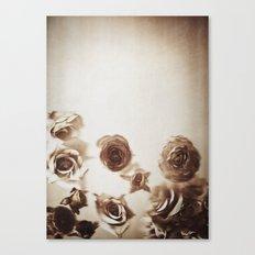 Falling Flower Variation II Canvas Print