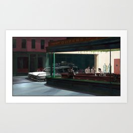 Night Busters Art Print