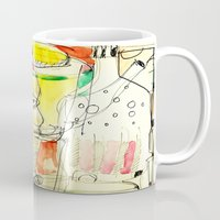 kitchen Mugs featuring kitchen by Matteo Lotti