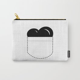 Close to my Heart, Pocket Love - Black Carry-All Pouch