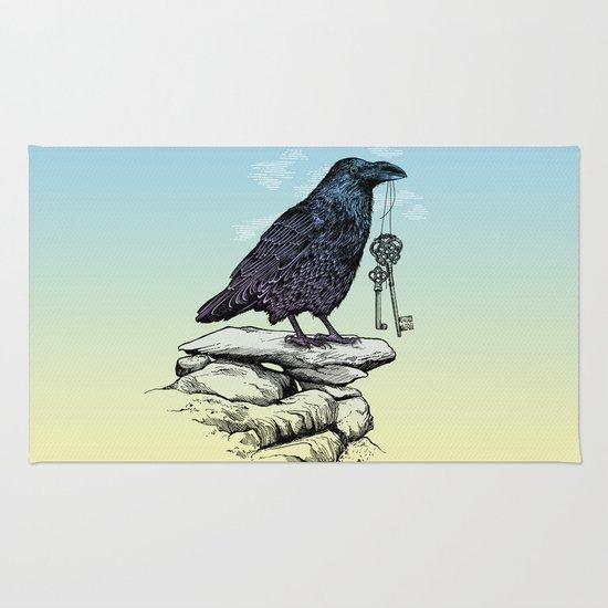 Raven's Keys Rug