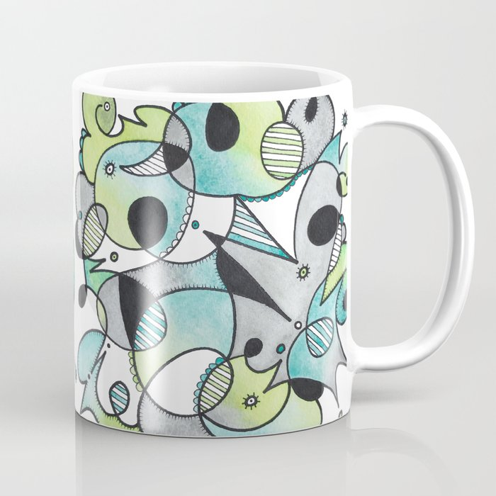 Abstract Critters Coffee Mug