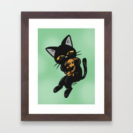 Baby dog Framed Art Print
