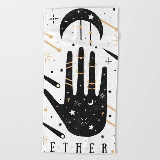 Ether  Beach Towel