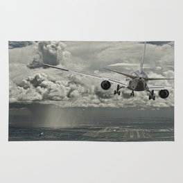 Stormy approach Rug