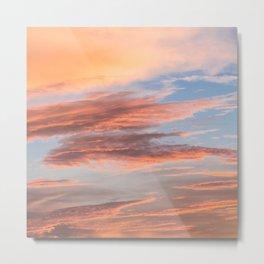 Clouds No 9 Metal Print