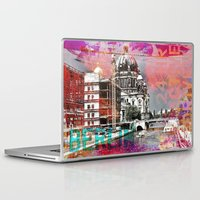 berlin Laptop & iPad Skins featuring Berlin  by LebensART
