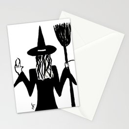 Rebel witch Stationery Cards