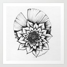 Lotus Lovely Art Print