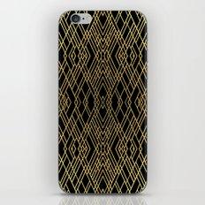 Art Deco Gold iPhone & iPod Skin