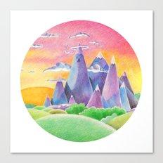 The Ice Kingdom Canvas Print