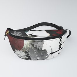 """""""Japanese Whispers"""" Fanny Pack"""