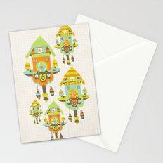 Clock Wall Stationery Cards