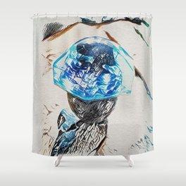 Glacier Pace Shower Curtain