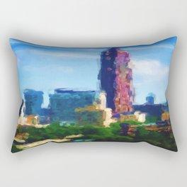 Sight Lines: Downtown Atlanta Rectangular Pillow